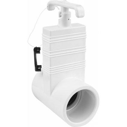 23349 soupatkovy ventil s otvorem na hadici o 60 mm sv60 60