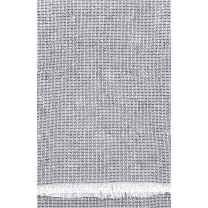Osuška LAINE (Šedá) (Velikost 85 x 175 cm)