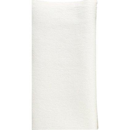 Osuška TERVA (Bílá) (Velikost 85 x 180 cm)