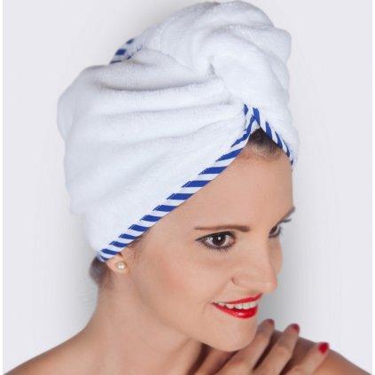 23985 welcome to casablanca bily namornicky turban na vlasy