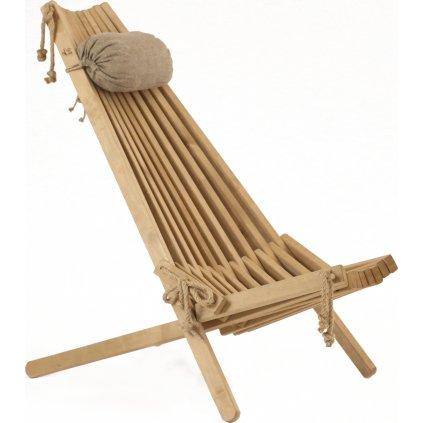 ECO Chair BIRCH (Barva Bílá s polštářem)