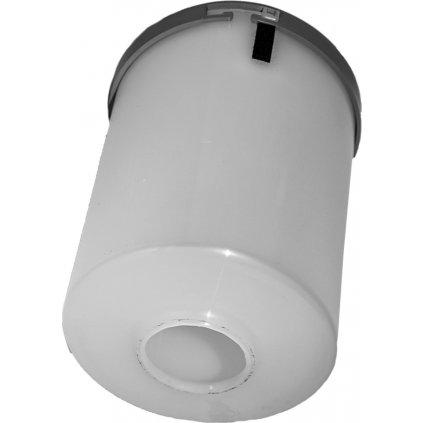 Filtrační patrona Polymer s otvorem (Barva světle šedá)