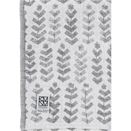 Ručník RUUSU (Šedý) (Velikost 95 x 180 cm)