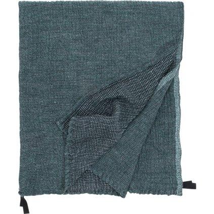 Osuška NYYTTI (Tmavě zelená) (Velikost 95 x 180 cm)