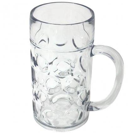 Plastová pivní sklenice Classic