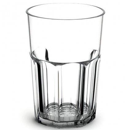 Plastová sklenice na vodu velká