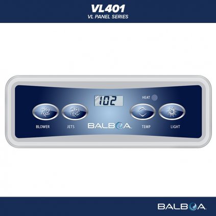 Balboa Water Group VL401 layout