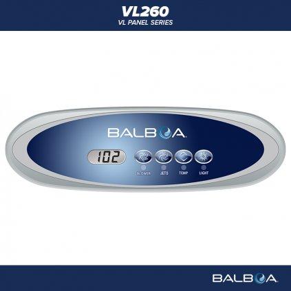 Balboa Water Group VL260 layout