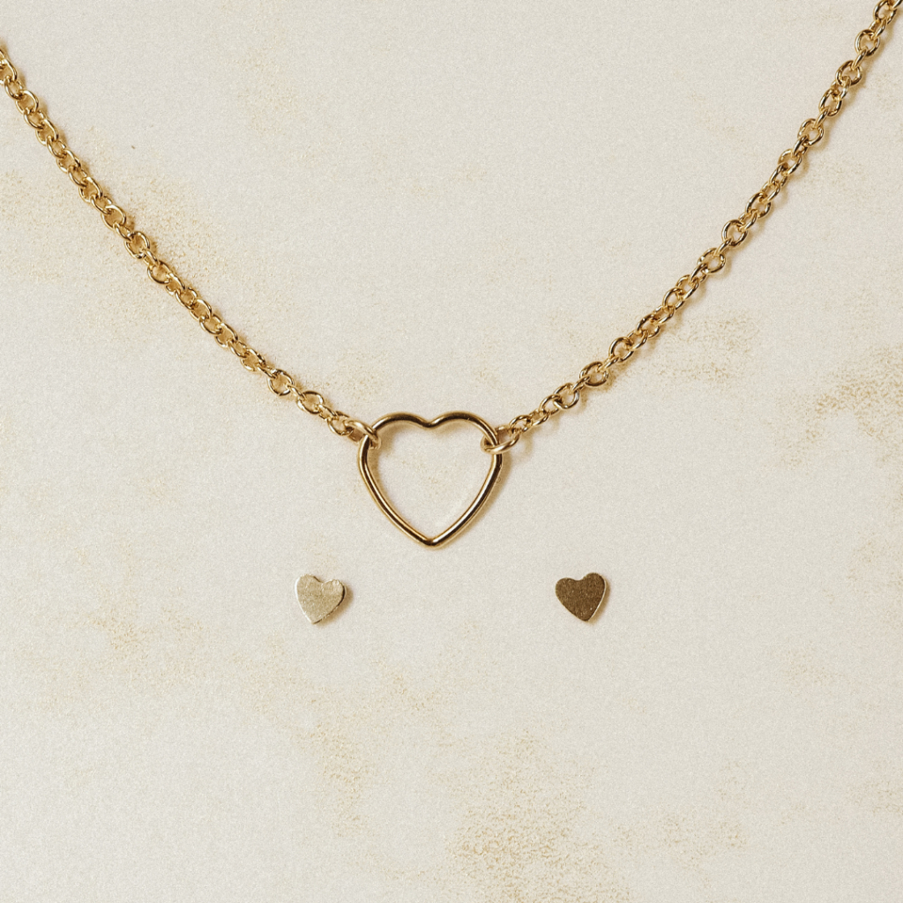 Láskyplná sada s náhrdelníkem Gold