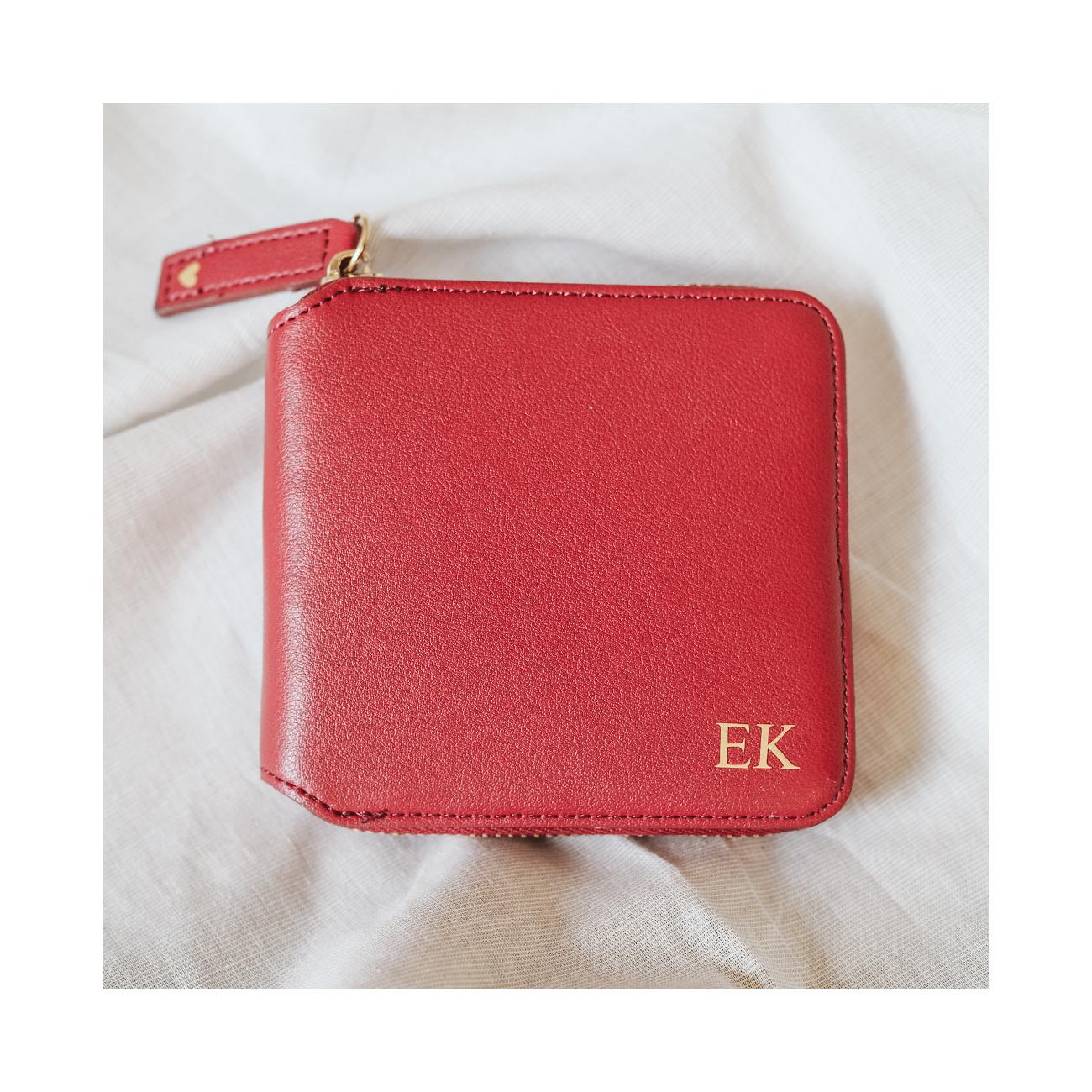Peněženka s osobním významem červená