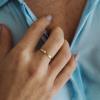 Plochý prstýnek