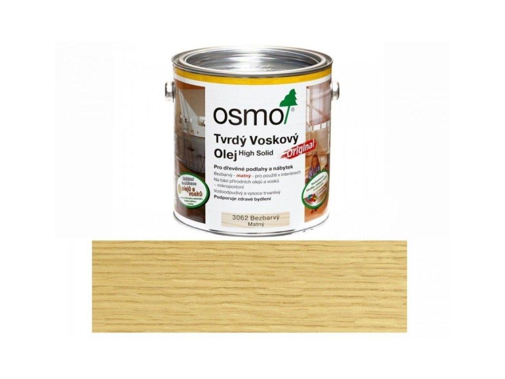 osmo 3062 original tvrdy voskovy olej mat original 1