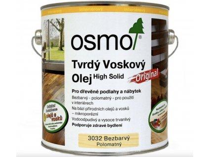 tvrdý voskový olej osmo 3032