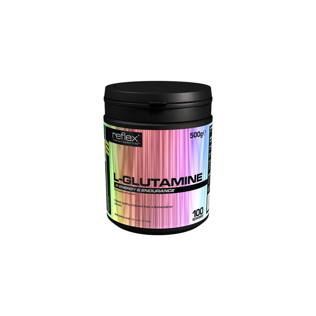 L-Glutamine, 500g, Reflex Nutrition