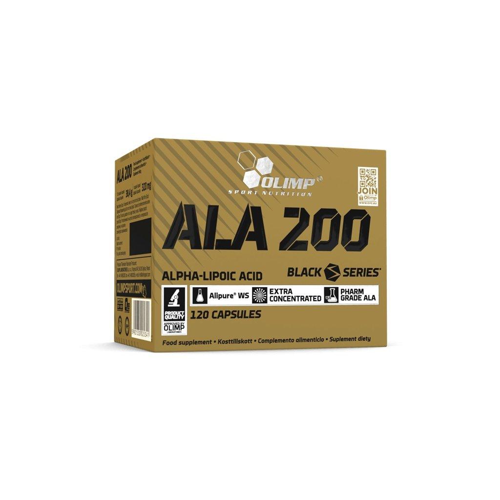 ALA 200, antioxidant, 120 kapslí, Olimp