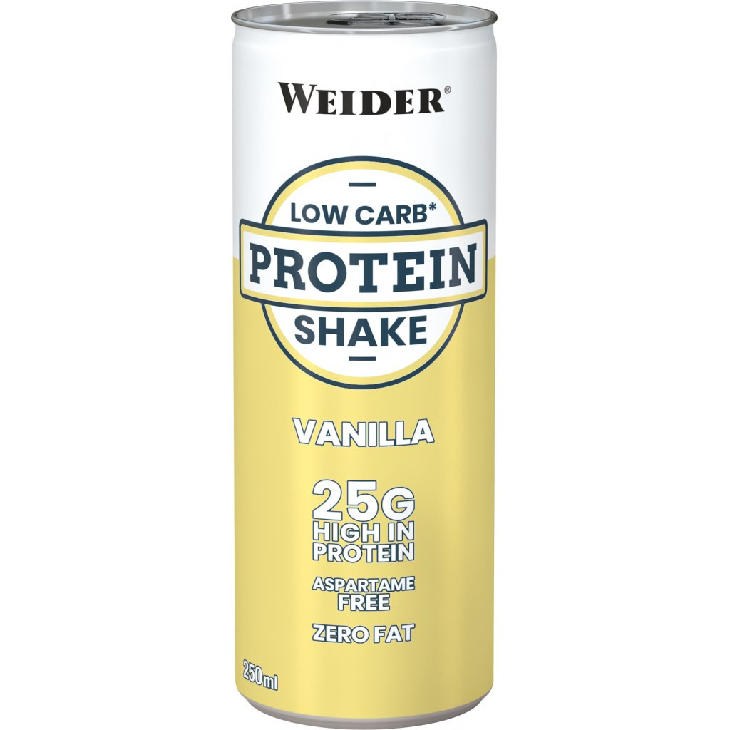 Weider, Low Carb Protein Shake, 250 ml,, Čokoláda