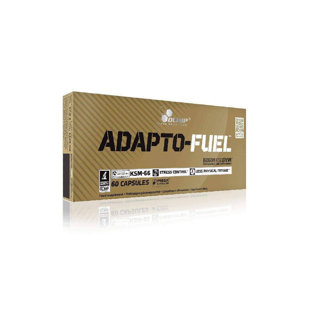 OLIMP ADAPTO-FUEL 60 kapslí, čtyři standardizované rostlinné výtažky s adaptogenními účinky