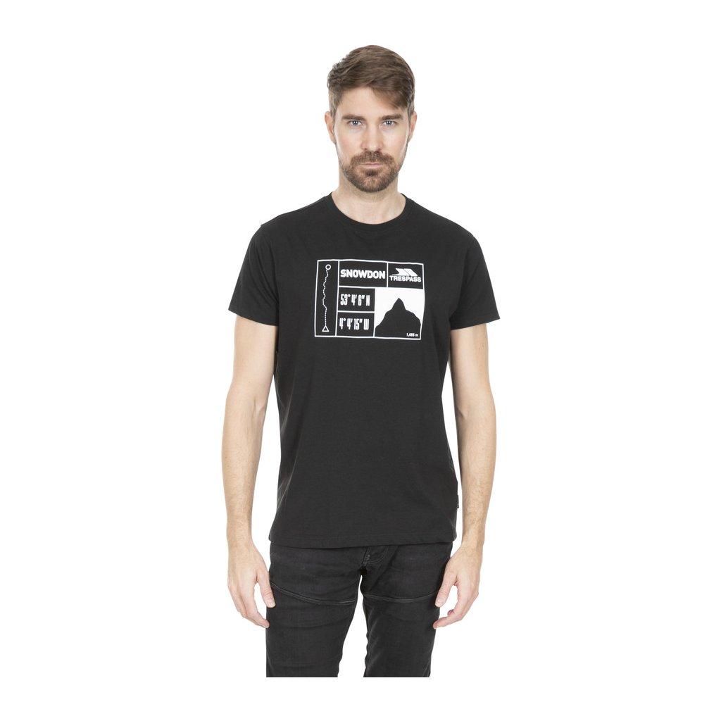 Pánské triko SNOWDON - MALE TSHIRT