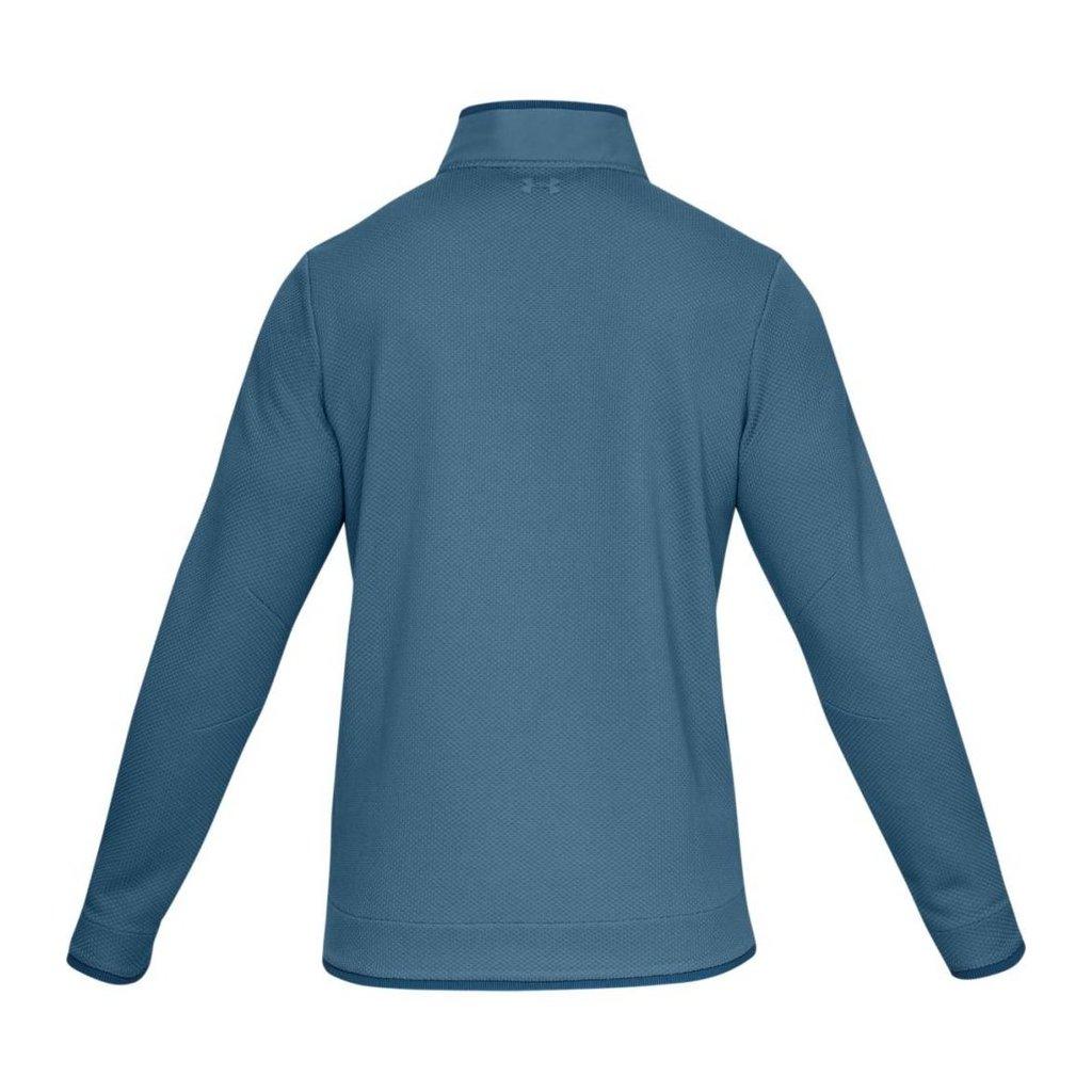 Sweaterfleece Snap Mock