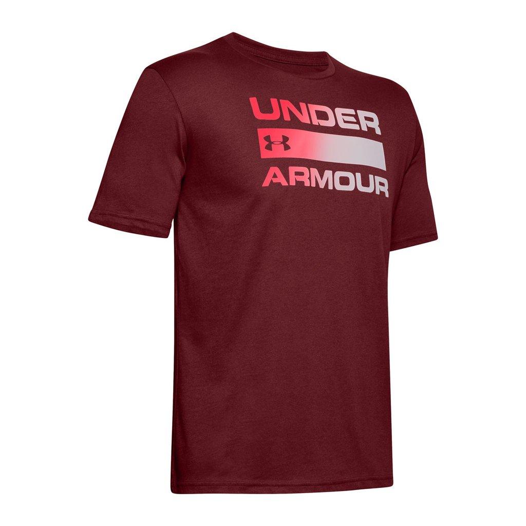 Pánské triko Under Armour TEAM ISSUE WORDMARK SS
