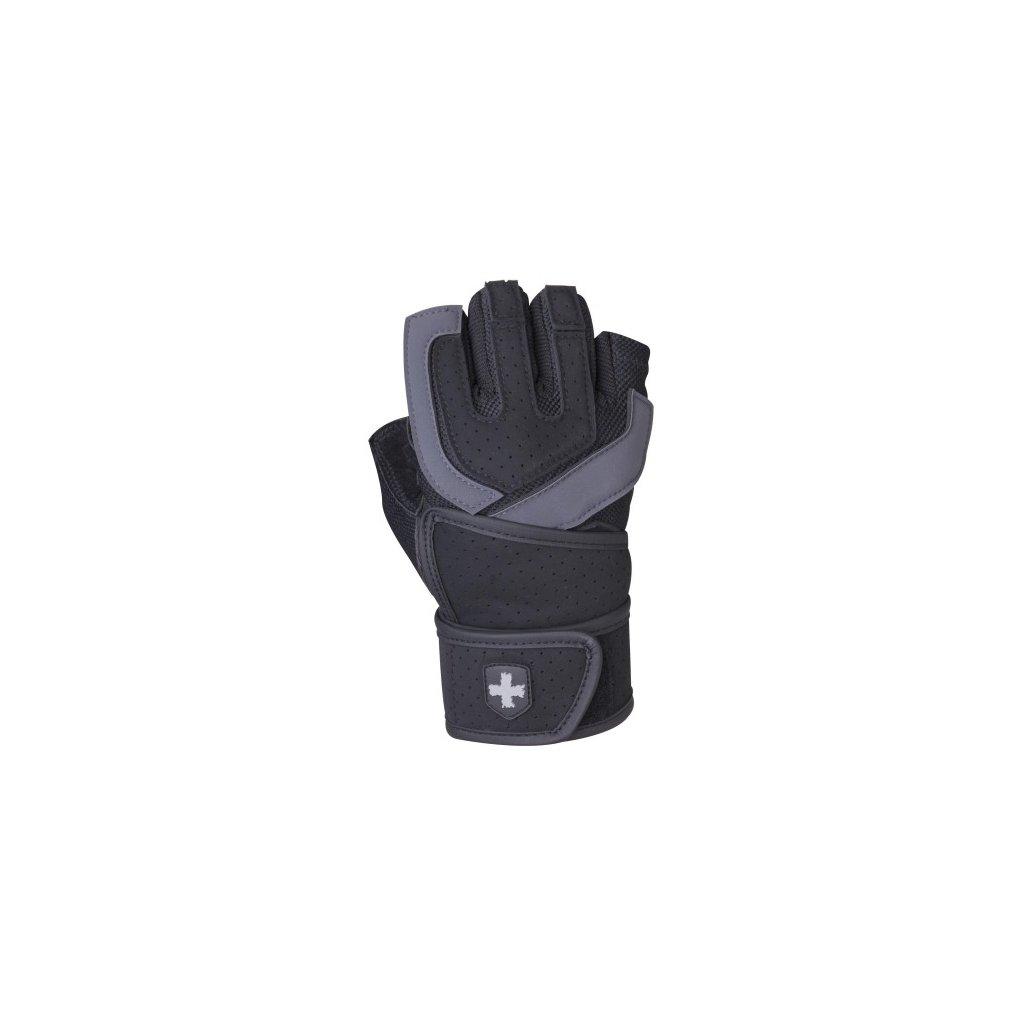 Fitness Rukavice Harbinger 1250, černo-šedé S