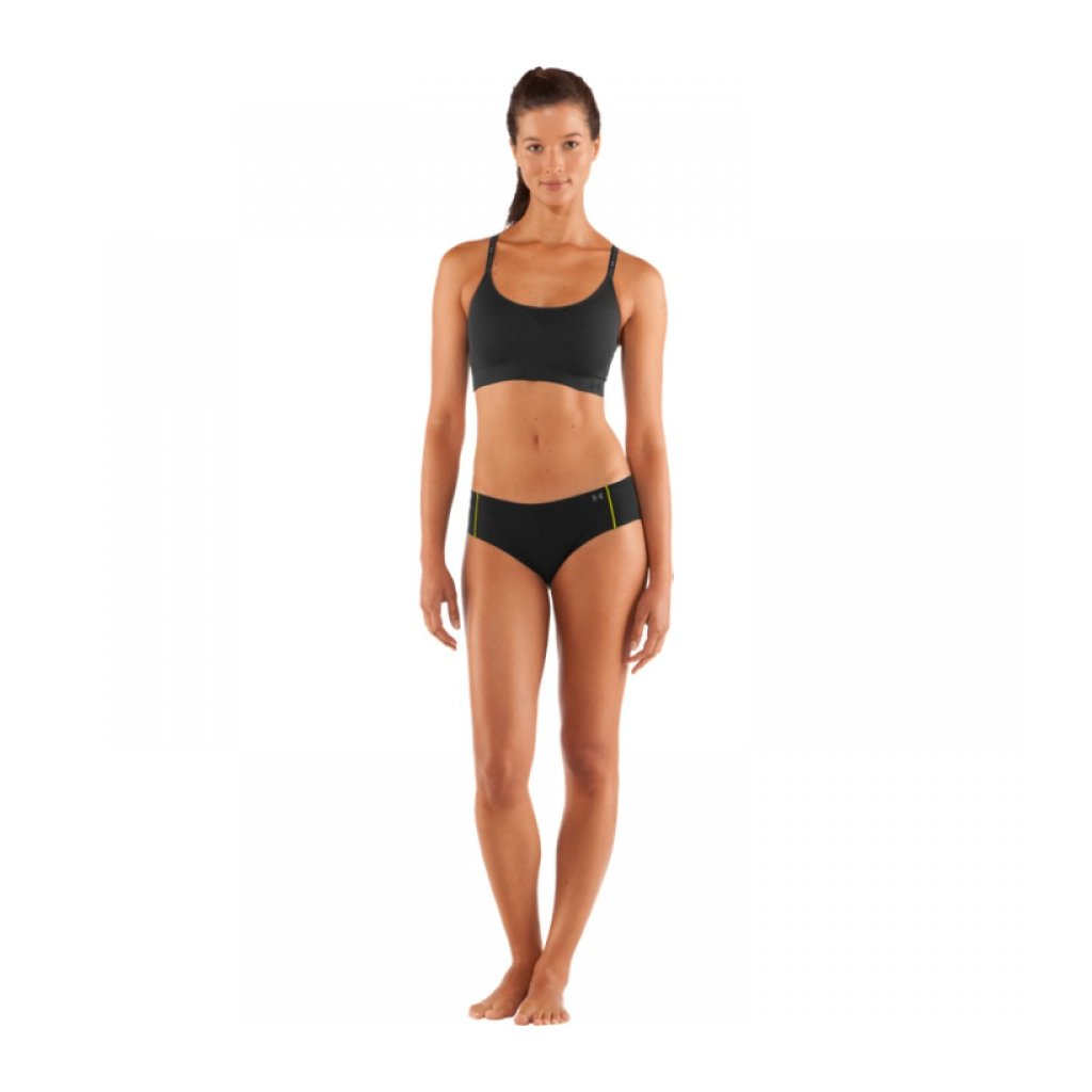 Dámské spodní prádlo Under Armour Women's Pure Stretch Cheeky Černá