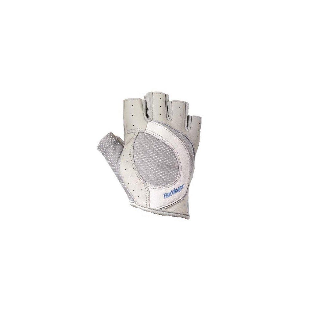 Harbinger Fitness rukavice, Womens Pro 149, bílošedé, L