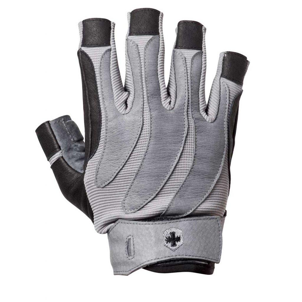 Harbinger fitness rukavice 131, Bioform, šedé, S