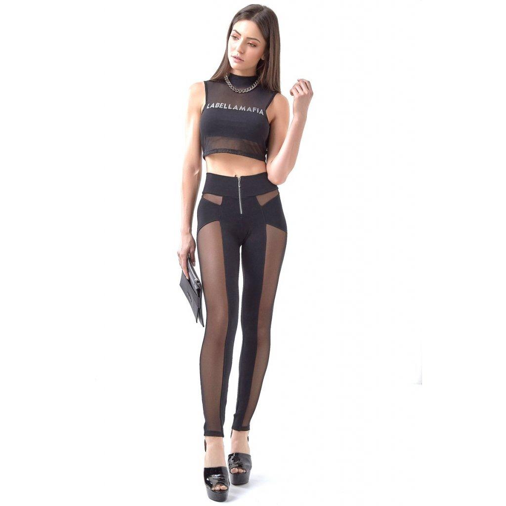 Dámské legíny Labellamafia kalhoty WARRIOR SHOW SKIN MCL14913, M