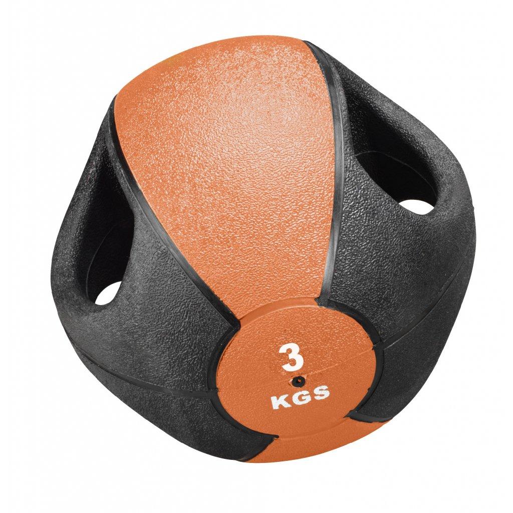 Trendy Sport Medicine Ball s držadly, 3kg