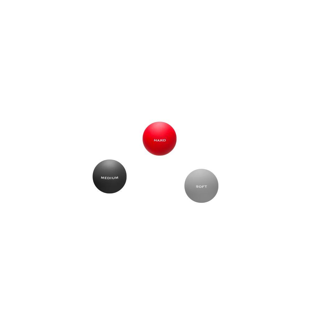 Trendy Tres Forca - sada masážních míčků, 3 ks