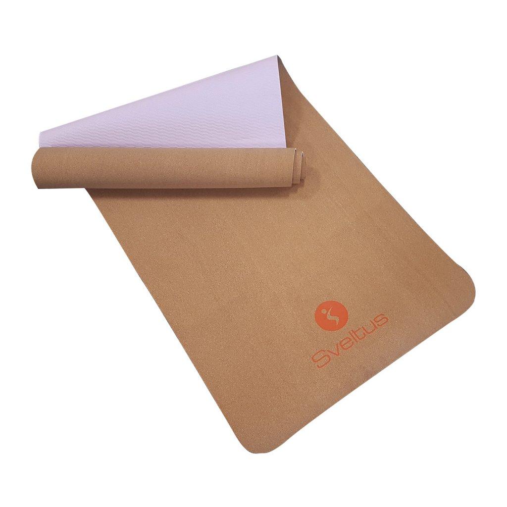 Cork Yoga Mat 183 x 61 x 0,4 cm