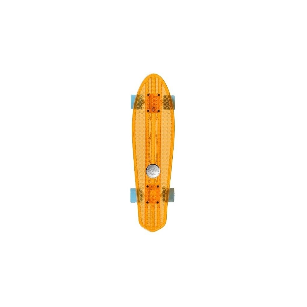 Skateboard Choke Juicy Susi Dirty Harry Clear Orange
