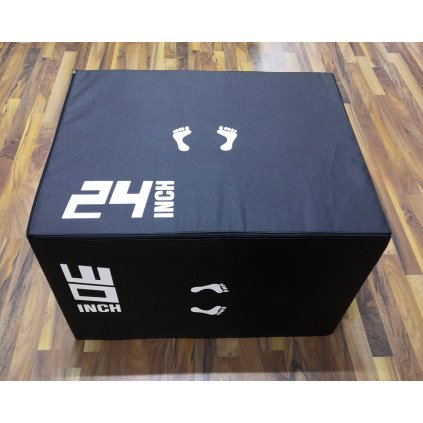 BEAR FOOT Soft Plyo Box 75x60x50 cm