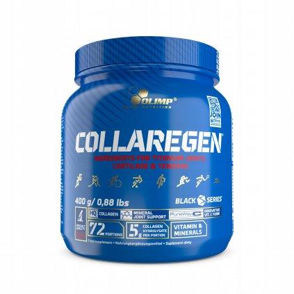 Olimp Collaregen Titanium, 400 g, kolagenní hydrolyzát s bisglycinátem manganu a mědi s vitaminem C, Citron