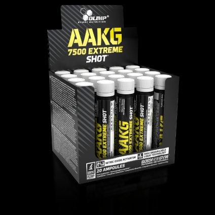 AAKG 7500 Extreme Shot, 1 x 25 ml, Olimp, Grapefruit