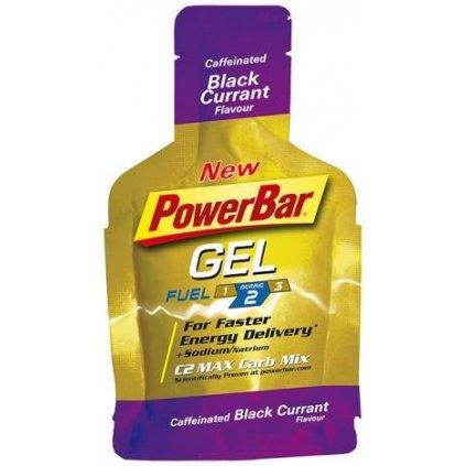 PowerBar Power Gel 41g Příchuť: Černý rybíz (+kofein)