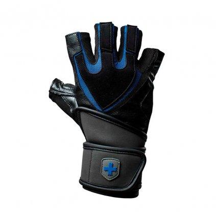 Fitness Rukavice Harbinger 1250, černo-modré M