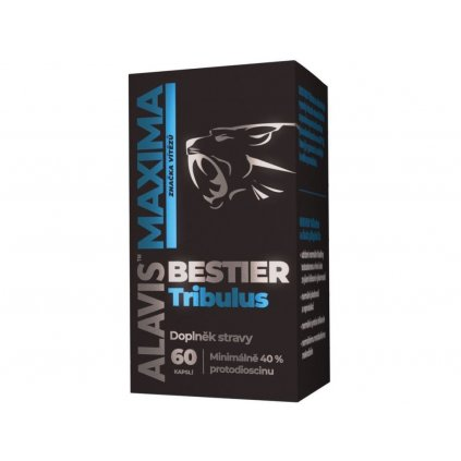 Alavis™ Maxima Bestier Tribulus 60 kapslí, kotvičník zemní se zinkem