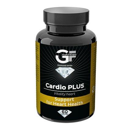 GF Nutrition Cardio Plus 60 kapslí, směs vitamínů, minerálů a přírodních antioxidantů