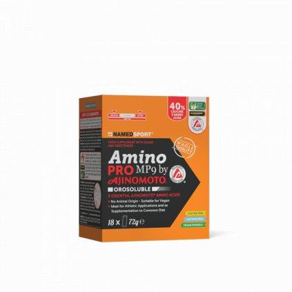 NAMEDSPORT Amino Pro MP9 18x4g, esenciální aminokyseliny v sáčcích