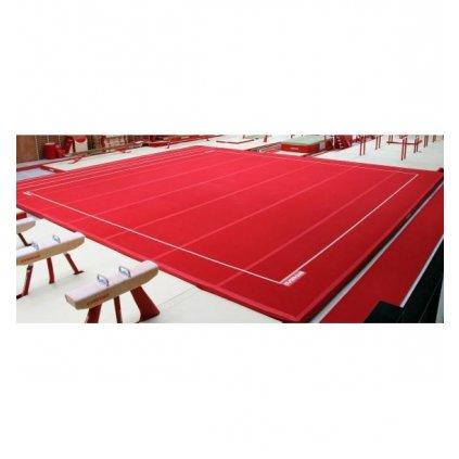 Gymnova Soutěžní gymnastická podlaha pružinová 12 x 12m