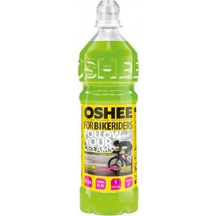 OSHEE Isotonic Drink 750 ml, izotonický nesycený nápoj s vitaminem B, draslíkem a BCAA, Lime Mint