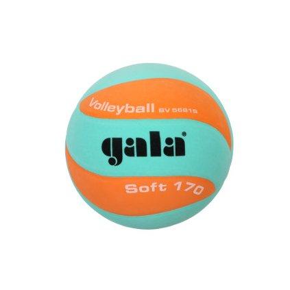 Míč volejbalový Soft 170 barva zelená-oranžová