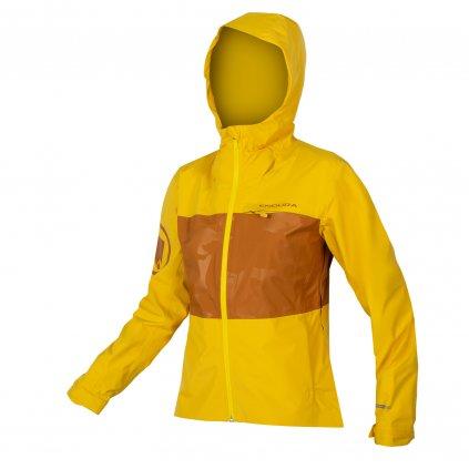 Endura Dámská bunda SingleTrack II, Šafrán Barva: Šafrán, Velikost: XXL