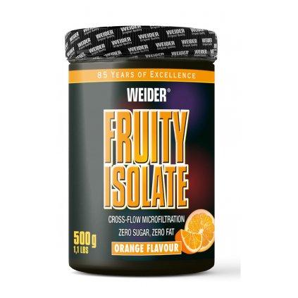 Weider Fruity Isolate CFM 500 g, syrovátkový izolát s vitaminem C, Pomeranč