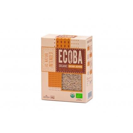 Ecoba BIO jasmínová rýže hnědá, 500g