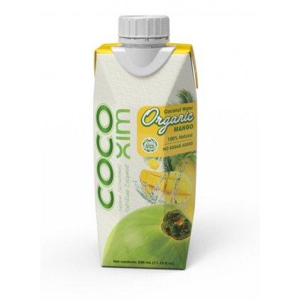 COCOXIM kokosová voda ORGANIC MANGO, 330ml