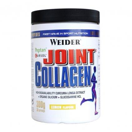 Weider Joint Collagen 300g, bovinný kolagení hydrolyzát Peptan® s kurkumou a glukosaminem, Citron