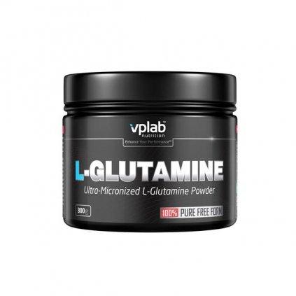 VPLab L-Glutamine Ultra-Micronized Powder 100% Pure Free Form 300 g, 100% čistá forma L-glutaminu v sypké formě